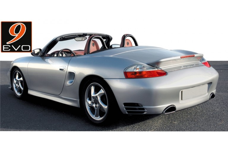 Couvercle de Malle avec Aileron Becquet Turbo DESIGN pour Porsche BOXSTER