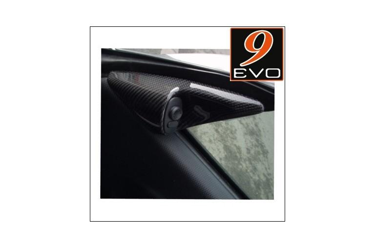 """Jeu Triangle intérieur rétroviseur en Carbone """"porte"""" pour Porsche 996/ Boxster 986"""