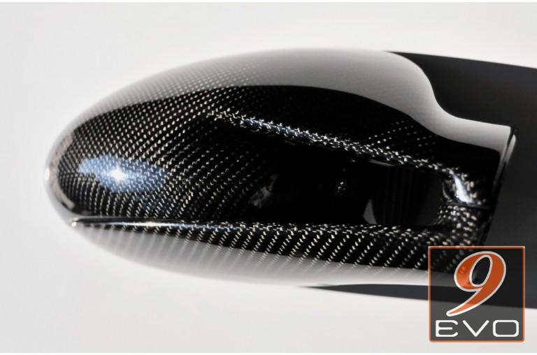 """Jeu de Rétroviseur Complet MKI 2005-2008 """"extérieur"""" en Carbone pour Porsche 997"""