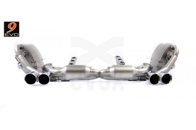 EVOX /// Ligne Echappement pour Porsche 997 MKI