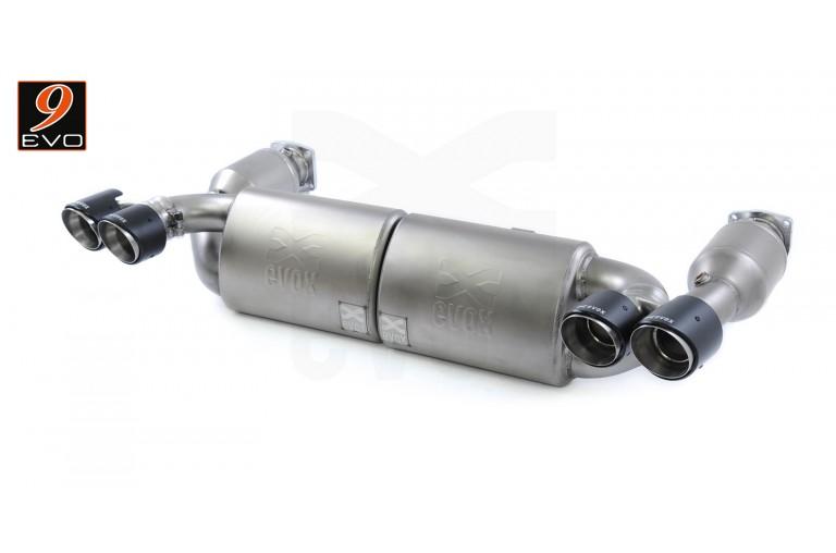 EVOX /// Silencieux-Catalyseurs d'Echappement SuperSport pour Porsche 997 Turbo