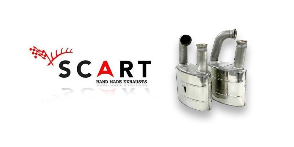 Scart hand made exhausts